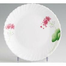 Теплостойкие декоративные опаловые изделия из стекла Coupe Plate