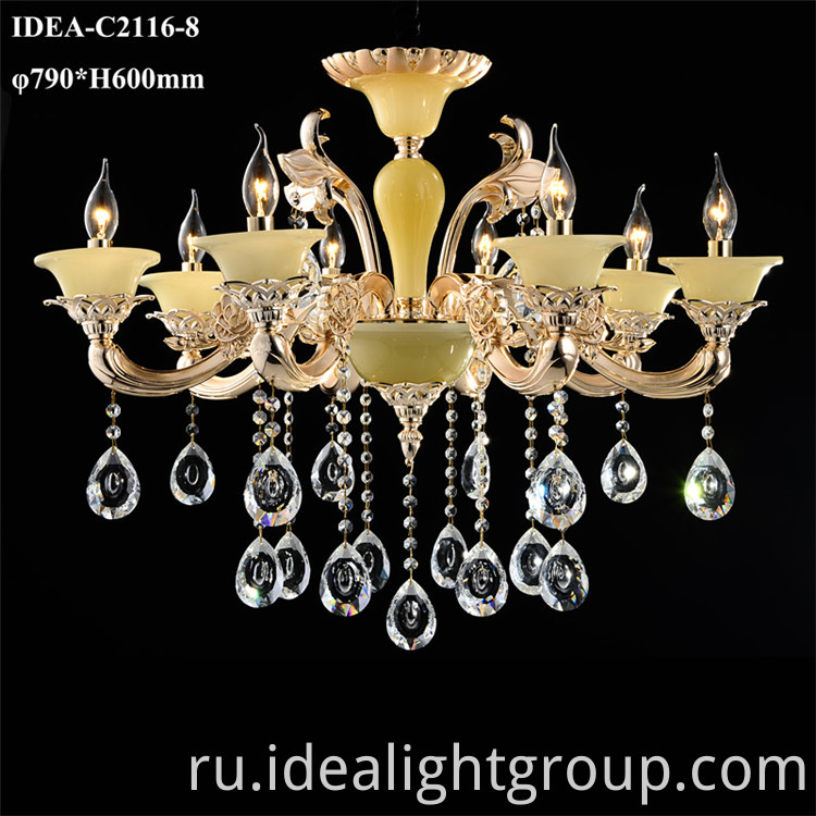 crystal foyer lighting