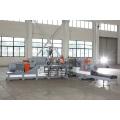 Système d'extrudeuse de pétrissage de composés de revêtement de sol en PVC multicolores
