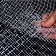 Malla de alambre galvanizado para valla de seguridad
