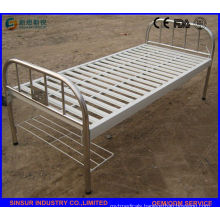 Cheap Stainless Steel Flat Hospital Beds