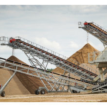 Fixed Belt Conveyor for Transporting Sand From China