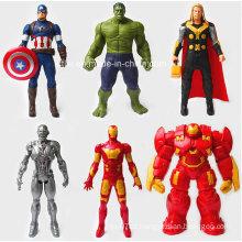 Superman herói ação PVC figura brinquedos (kl-001)