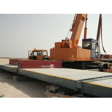 3*20m 80t Weighing Scale Electronic Weighbridge Truck Used