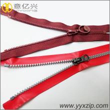 custom resin waterproof decorative backpack zippers