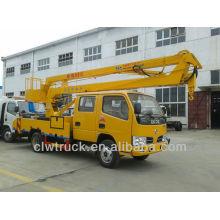 Dongfeng camión montado plataforma de trabajo aéreo, 16m Camión Plataforma Aérea