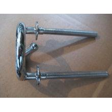 Pieza de maquinaria del bastidor de inversión del acero de carbono del OEM con el pulido del espejo