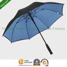 """54"""" arc Double couche couvert en fibre de verre parapluie de Golf (GOL-0027FDA)"""