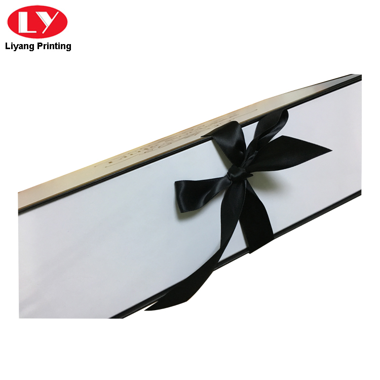Ribbon Box White