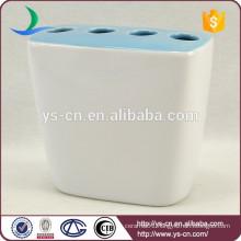 YSb50078-02-th Pigmented ceramic toothbrush holder