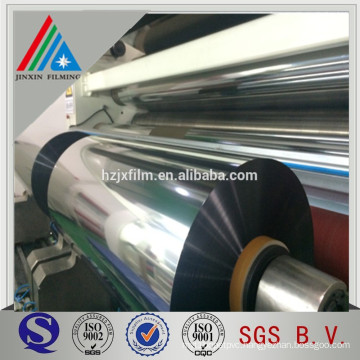 Metallized Oxygen barrier PET CPP PVC Film