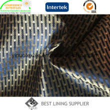 Eco-Friendly 100 Polyester Shine Satin Lining for Men′s Garment