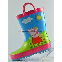Bottes de pluie en caoutchouc antidérapantes pour enfants 13