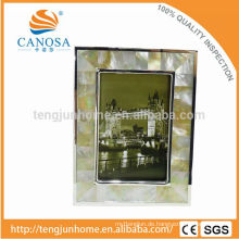 Eco Friendly GOlden Perlmutt Frame Foto mit Silber Edge