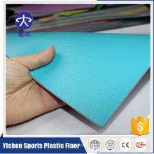 Revestimento do esporte do PVC da elasticidade para o salto longo
