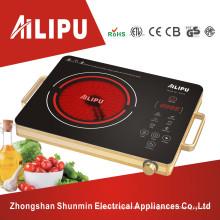 Fogão elétrico do alojamento do metal do dispositivo de cozinha / fogão infravermelho