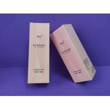 Boîte de papier d'emballage cosmétique imprimée sur mesure