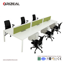 Office table furniture 6 seater bench workstation