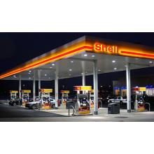 Estación de gasolina para troncos de gran tamaño