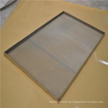 Metalltablett für Lebensmittelqualität / Auftaufach / Saatgutbehälter