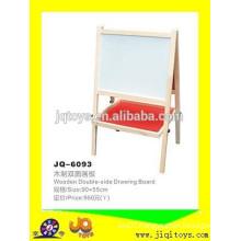 JQ6088 Hotsale Wooden Double-side Drawing board / scaffold Teaching Instrument