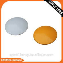 Wholesale Traffic Safety White or Yellow Durable ABS Plastic Non-reflective Rasied Road Marker