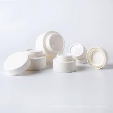 branco vazio 3g 5g 10g 15g 30g 50g 80g frasco de creme de plástico cosmético