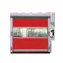 Porta de rolamento de design moderno em PVC