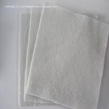 Geotextil no tejido material PP / PET del estanque de agua del paisaje