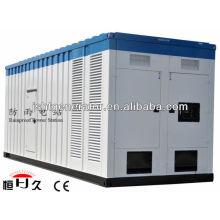 Conjunto de generador eléctrico a prueba de lluvia móvil 80KW (GF80C)