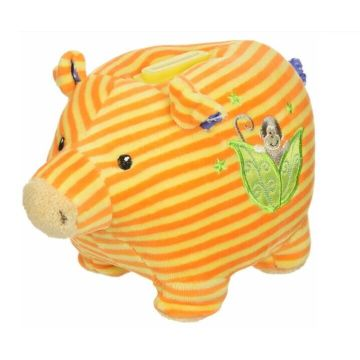 Lovely yellow stripe classic little stupid pig