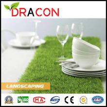 Aménagement paysager de tapis de gazon artificiel vert (L-2003)