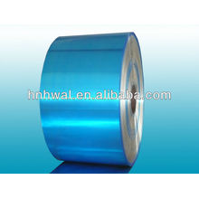 Aluminum coil with PET for cable armouring