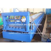 Rollo de cubierta de acero de la estructura que forma la máquina