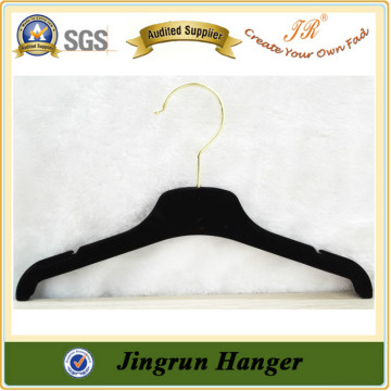 Top Supplier Reliable Quality Plastic Hanger Velvet Clothes Hanger