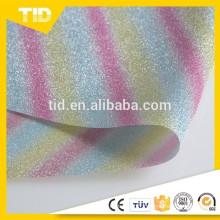 Film de scintillement / scintillement de PVC pour des chaussures