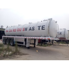 30 CBM Semi Trailer Vacuum Sewage Suction Tanker Truck
