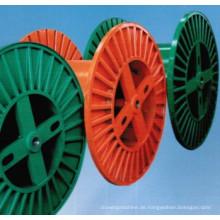 Maschinen-Kabelspule PND 100-630, die Wellrohr herstellt