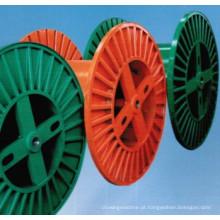 Carretel do cabo da máquina de PND 100-630 que faz canalização corrugada
