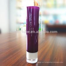2014New cosméticos cosméticos 32mm tubos com tampa de gotejamento