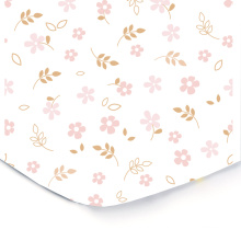 Fitted Crib Sheets - 100% Soft Organic Cotton Crib Mattress Sheet - Bedding Gift Set For Boys and For Girls