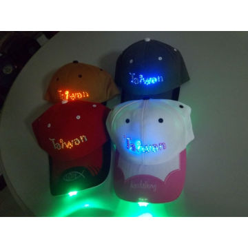 2013 trendy designed led caps /led caps and hats