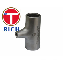 ASME B16.9 Stainless Seamless and Welded Reducing Tees