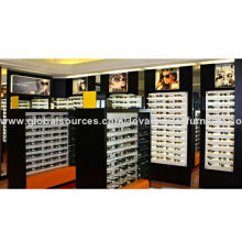 All-in-one-services optical display cabinets for shop designNew