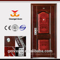 Housing projects entry safty steel door