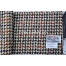 tecido tecido feito sob encomenda da mistura de lã de lãs de 100% para fazer sacos
