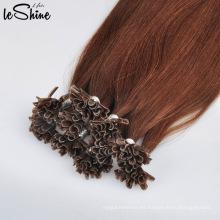 Extensión dibujada doble del pelo humano de la extremidad del 100% Remy invisible