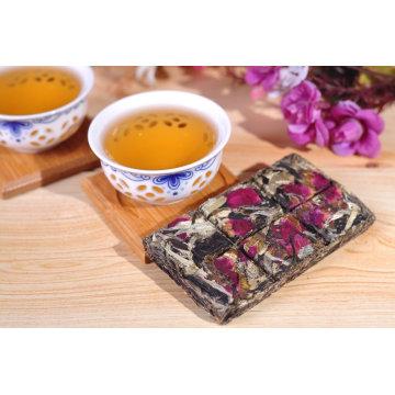 Шоколад тип пу эр чай с прекрасным ароматом роз в подарочной коробке