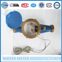 Medidor de flujo de salida de pulso en 100 litros por pulso
