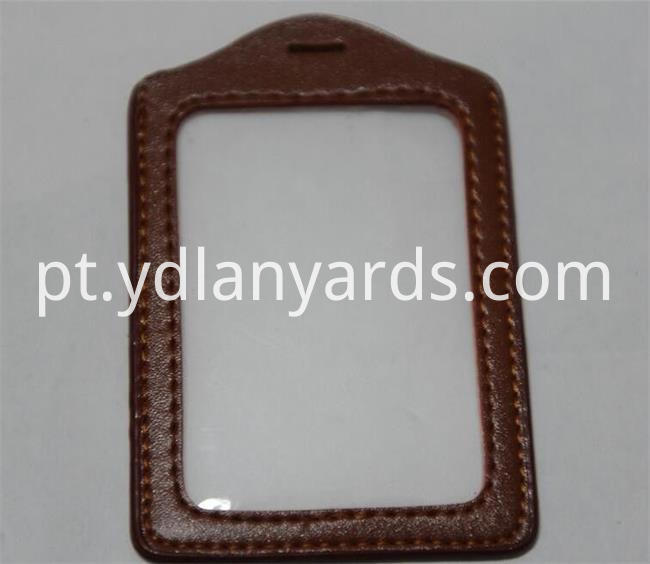 Leather Badge Holder